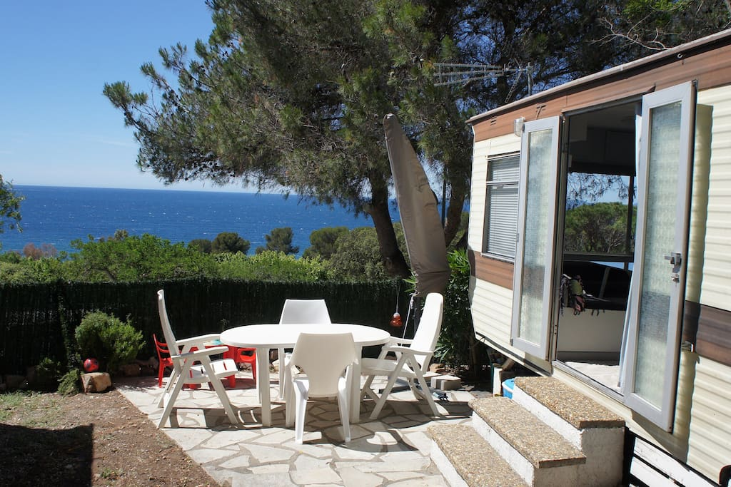 Mobilhome vue mer camping cars caravanes louer saint - Location camping car salon de provence ...