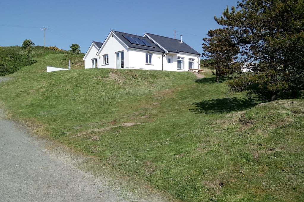 Sealands, set in 2 acres of land, opposite the beach