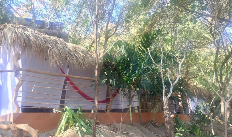 BeachFront Tree cabin/Casa del árbol frente bahia - Puerto Ángel - Puumaja