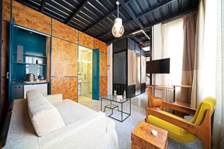 Retro Design 4 - Raven Suite 1+1 Taksim Istanbul