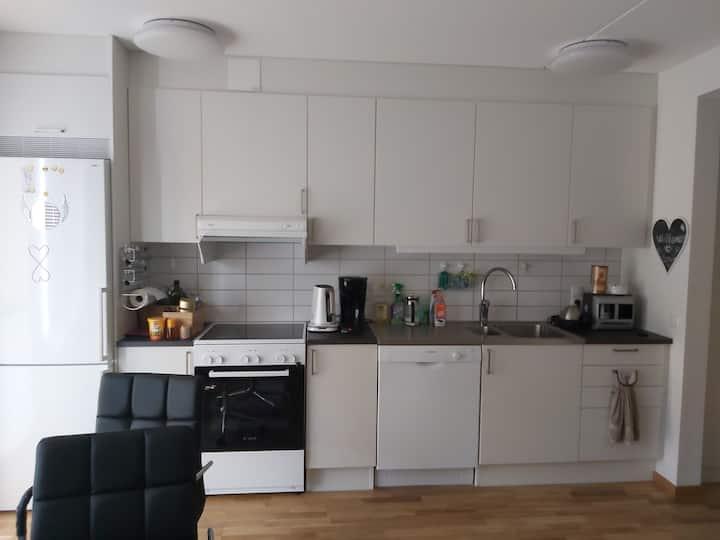 Eget rum nybyggnad lägenhet i central Helsingborg
