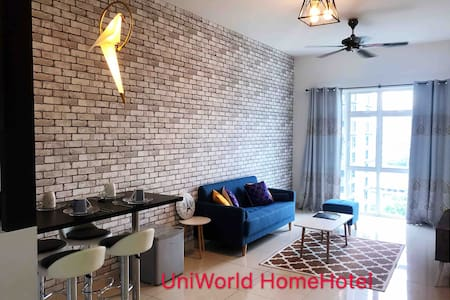 Cozy 1 BR Sky Suites CIQ/Custom/R&F Mall 1-4pax