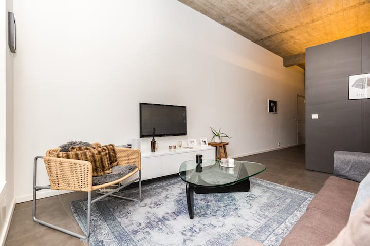 NOIR. RESIDENCE - City Center of Antwerp Lux. Loft