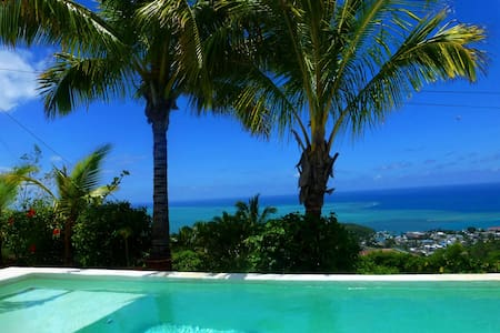 Rodrigues, 1 hours flight; a Must! private pool - Port Mathurin