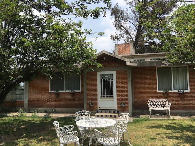 Casa rústica para 9 personas - Amecameca  - Casa