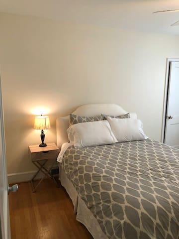 Bedroom #2-Queen Bed, Dresser and closet space