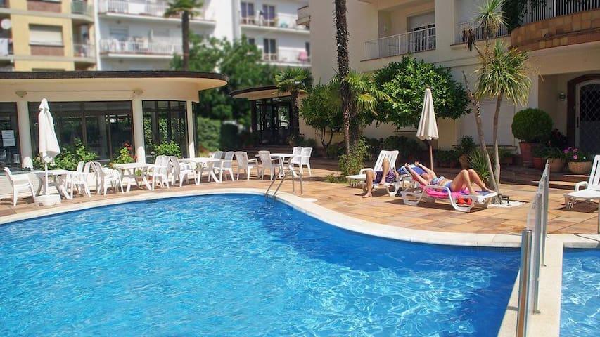 Hotel Mireia - Habitación individual con balcón