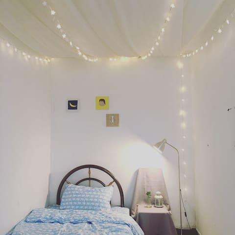 苏州老城区  夏有财的星空小卧室 - Suzhou - Apartamento