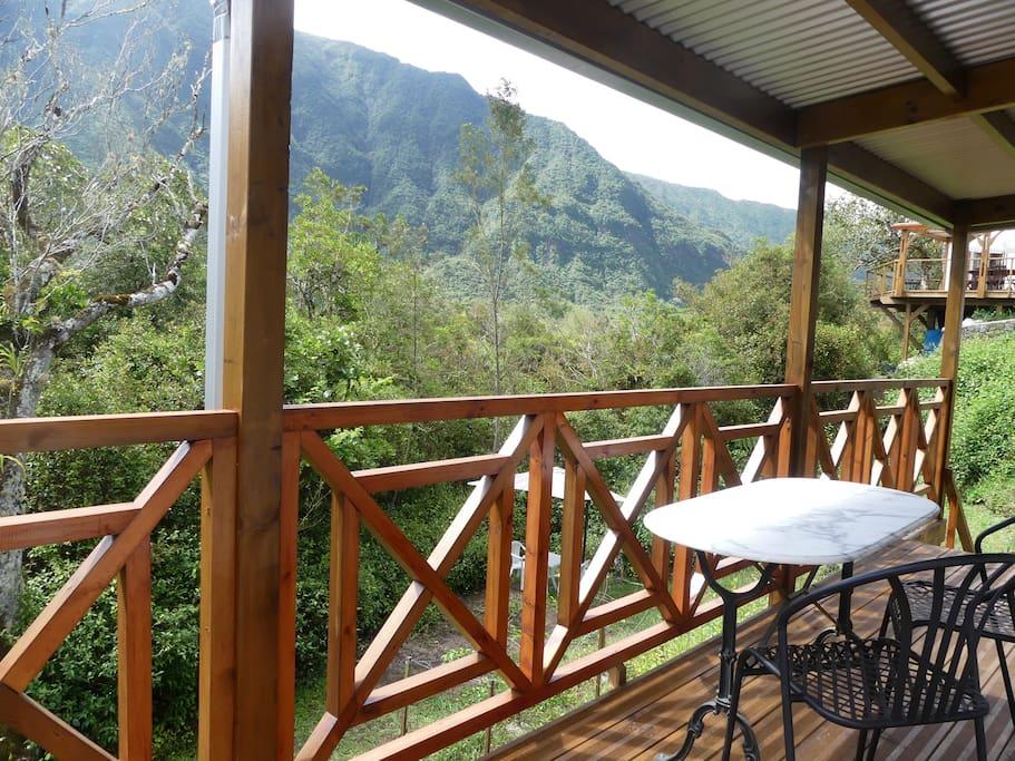 La terrasse Nature et Montagne