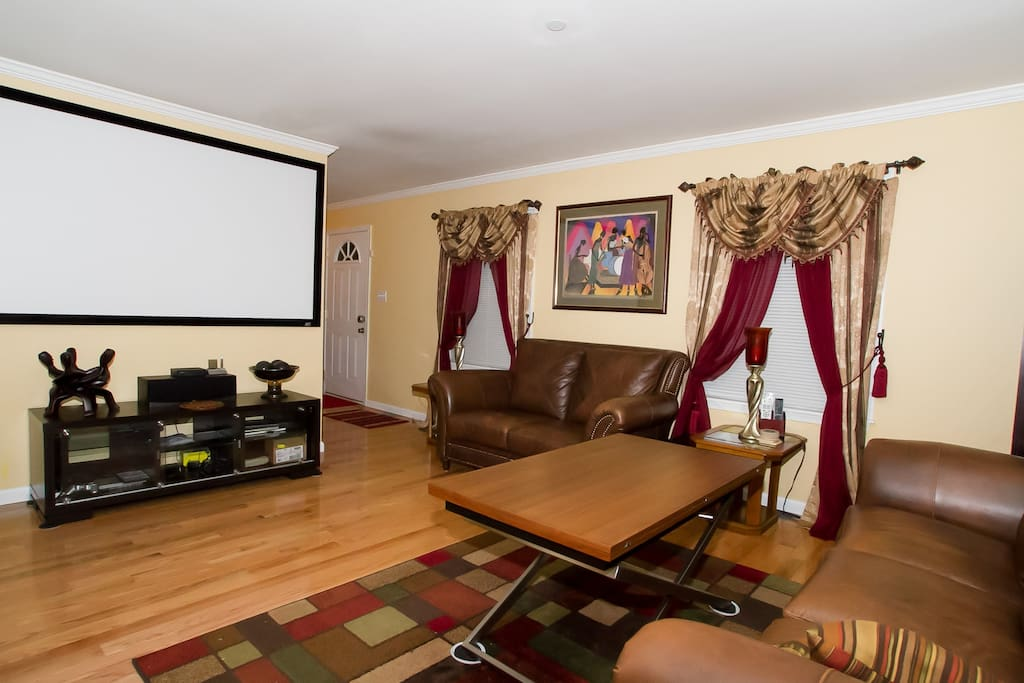Living/Theater Room