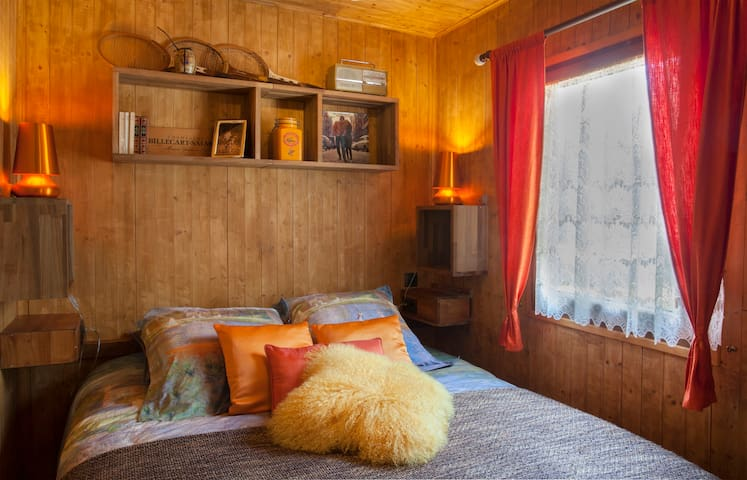 La chambre avec lit en 160