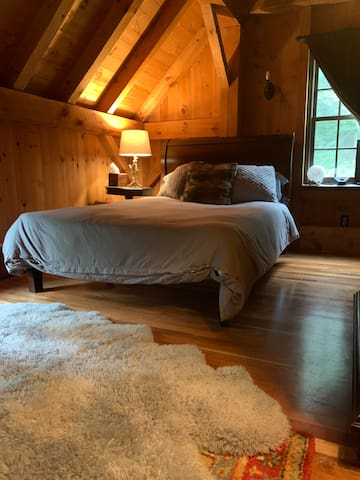Full bed in upstairs bedroom 1