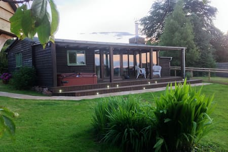 Eden lodge (with private hot tub) - Holcombe Rogus