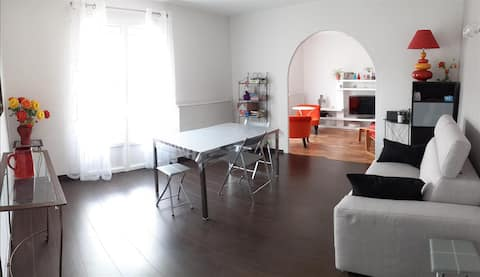 T3 85 m2 ds maison individuelle  avec parking
