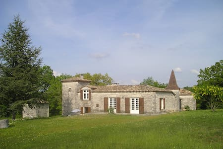 Holiday house, Le Castelas - Montaigu-de-Quercy