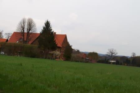 Große Wohnung im ländlichen Bereich - Halle (Westfalen) - Apartment