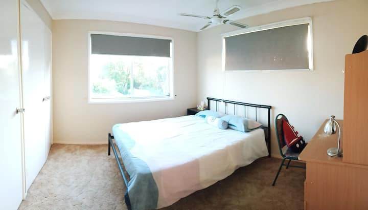 Comfy double bed room 渡假風雙人房視野遼闊 C03