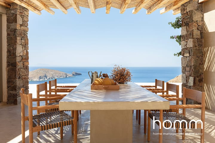 KYR MIMIS homm Contemporary Cycladic Design Villa