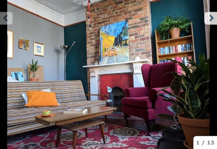 Hipster flat, one room available in Clapton