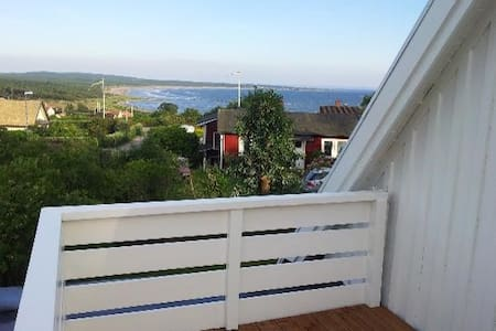 Authentic summerhouse 500 m from the beach