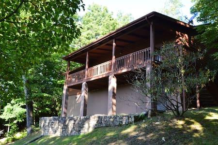 Peaceful Hillside Cabin - Brevard