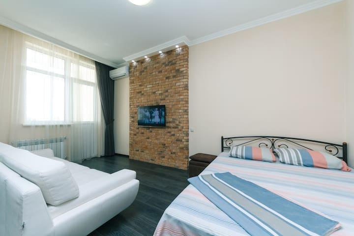 1к Апартаменты Люкс в ЖК «Элегант»
