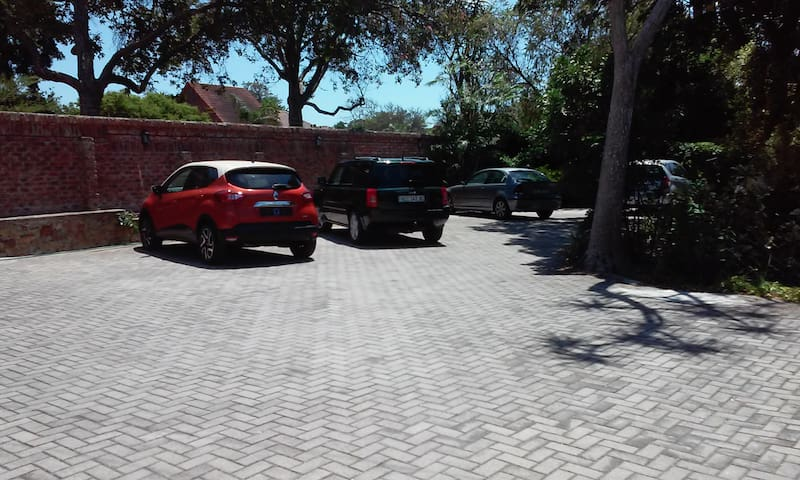 Lots of off street parking