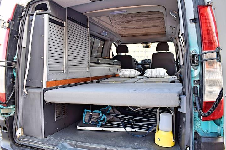 KEYWheels. Vito 4x4 con techo y wifi