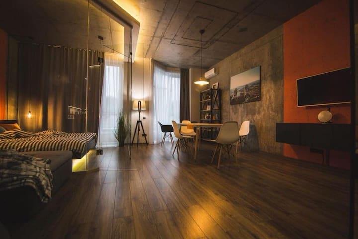 Loft apartment in Kyiv