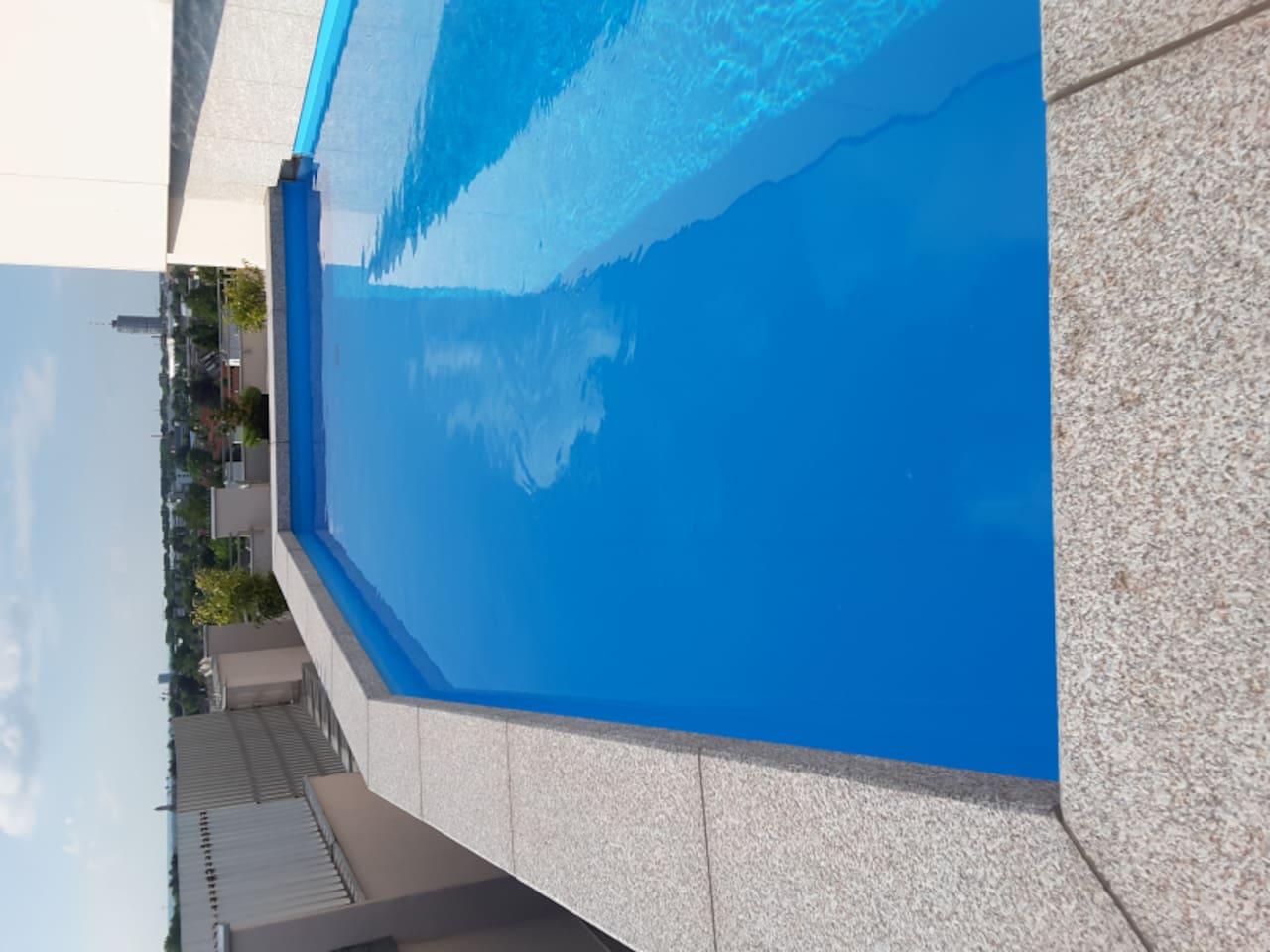 Dachschwimmbad