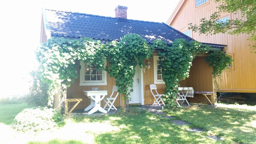Charming cottage on the farm - Hamar - Casa