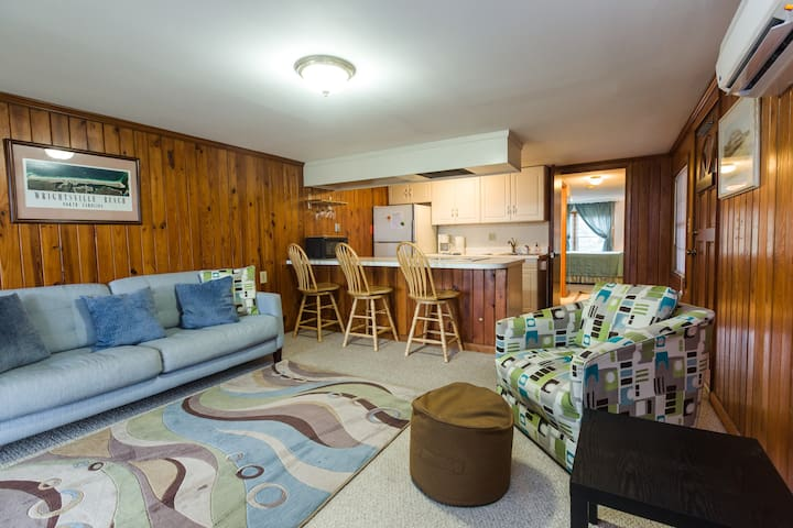 Cozy one bedroom Ocean Front - Wrightsville Beach - Daire