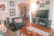 Shared space: our living room area.