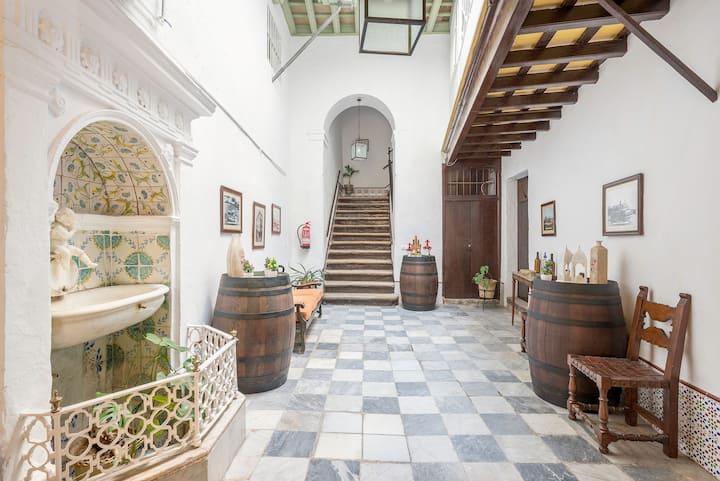 In historischem Gebäude mit antikem Charme