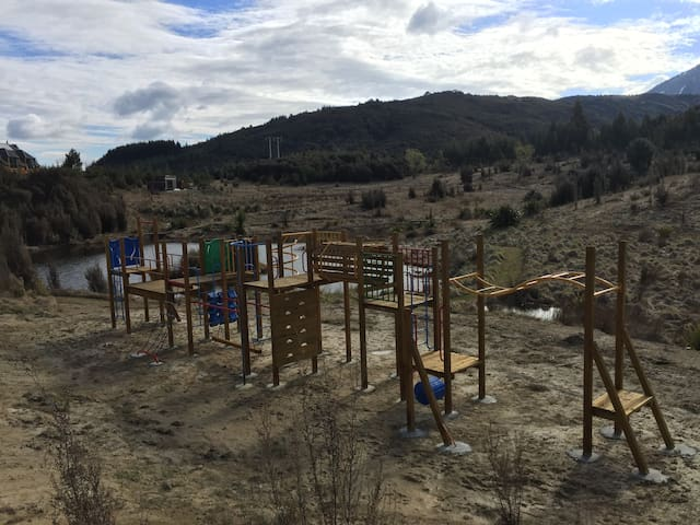 Playground on the property