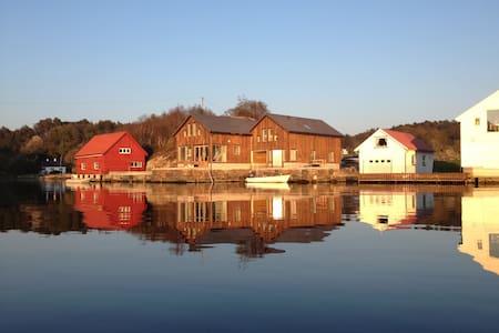 Sjøhus på Eigerøy - Eigersund