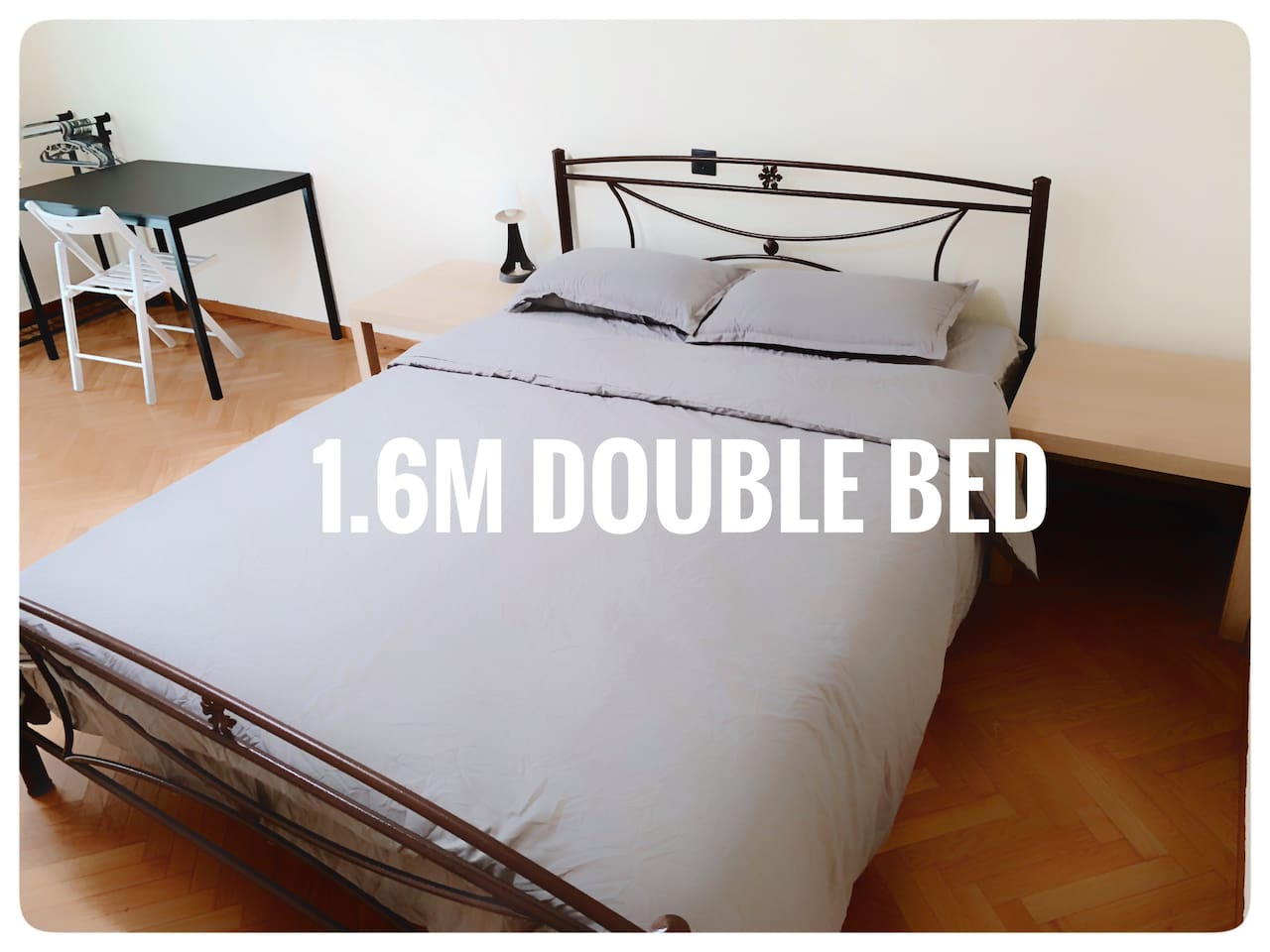 1.6M Standard Double bed