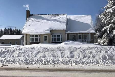 Jolie maison chaleureuse tout confort