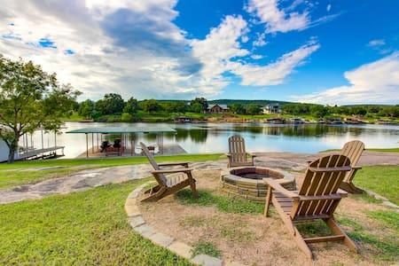 Renovated waterfront home w/ lake views, dock & boat lift - dogs OK!