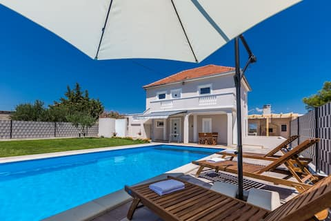 Kristina holiday home with private swimmingpool