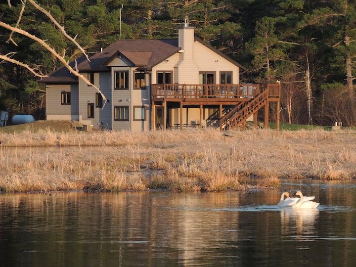 Gateway to Lake Superior,  237acre w/ ponds-trails