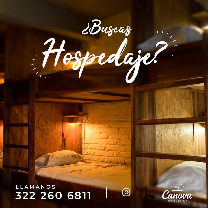 "Canova Hostel&Pizza - Mixed Dorm ""Cupido"""