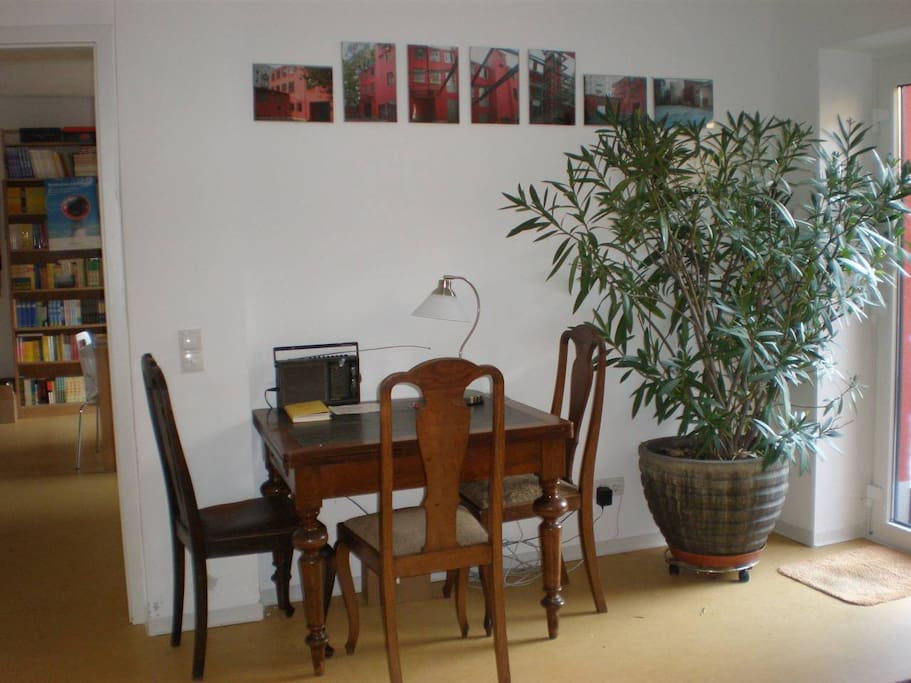 Schreibtisch im Gästezimmer