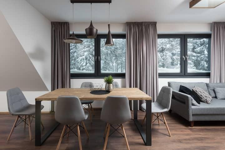 Královka maisonette three-bedroom apartment