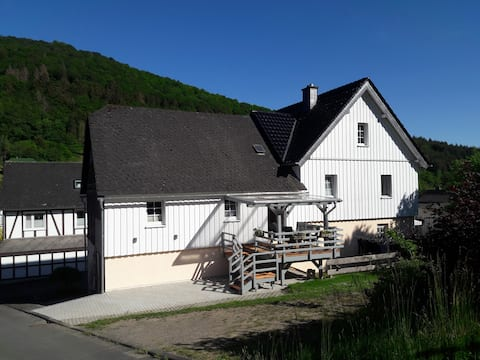 Holiday apartment Ortmann in Biedenkopf-Weifenbach
