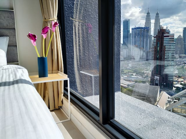 ExpressionZ Charming 1 Bedroom - KLCC view