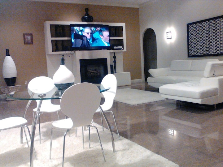 Large bedroom in safe location