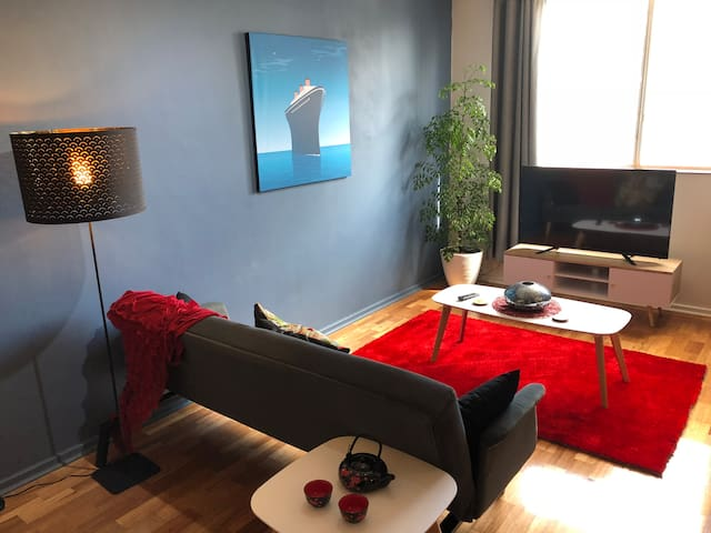 Funky apartment close to the city!