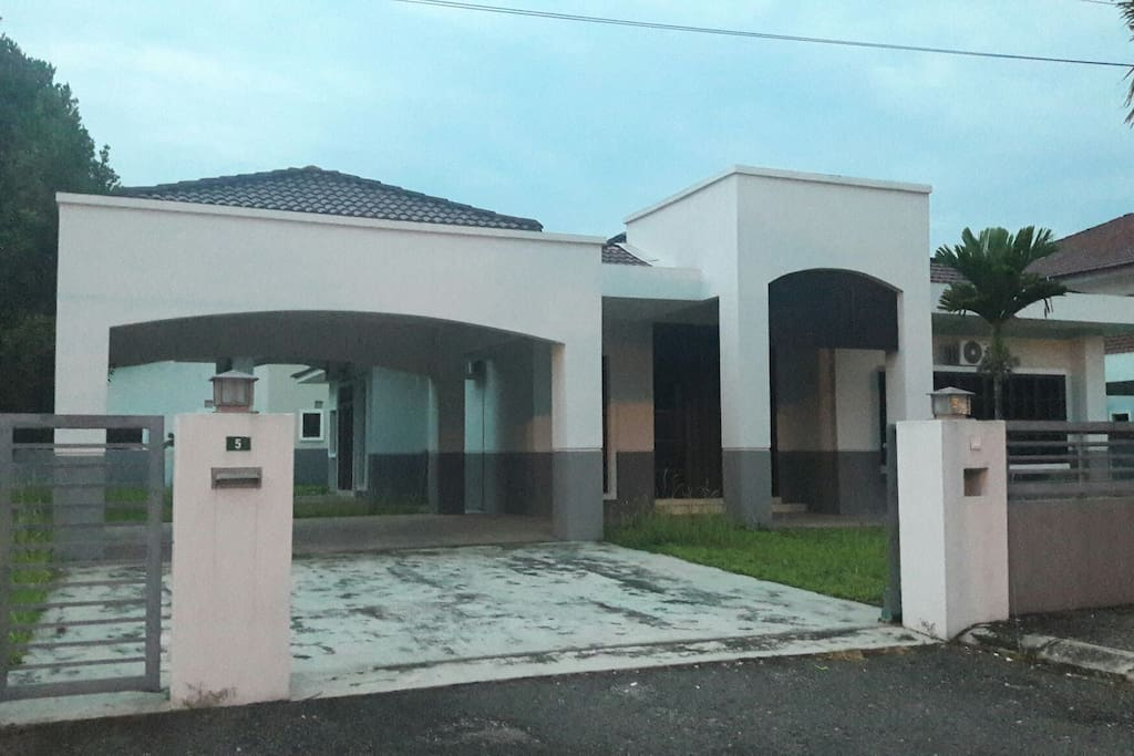 large bungalow