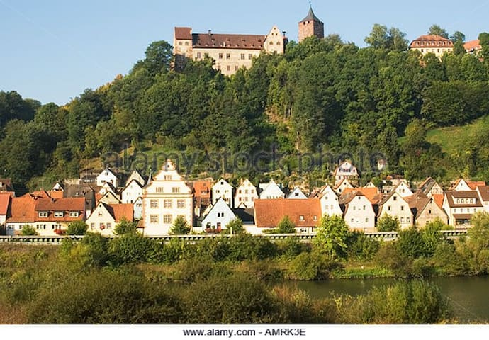 Picturesque, family friendly house - Rothenfels - Hus